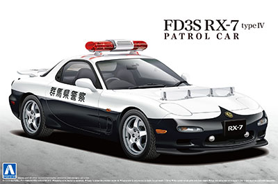 1/24 ザ・ベストカーGT No.60 FD3S RX-7 IV型 パトロールカー プラモデル[アオシマ]《在庫切れ》