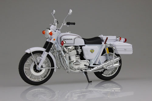 1/12 Complete Motorcycle Model Honda CB750FOUR (K0) White Motorcycle(Released)1/12 完成品バイク Honda CB750FOUR(K0) 白バイAccessory
