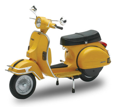 1/12 Complete Motorcycle Model VESPA P200E (1978/Yellow)(Pre-order)1/12 完成品バイク VESPA P200E(1978/イエロー)Accessory