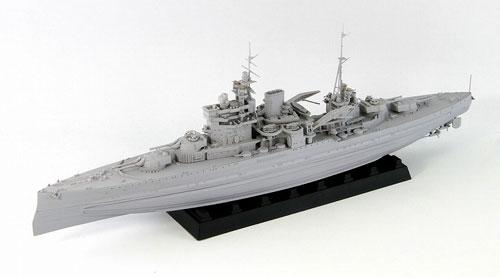 1/700 英海軍 戦艦 クィーン・エリザベス 1941 プラモデル[ピットロード]《取り寄せ※暫定》
