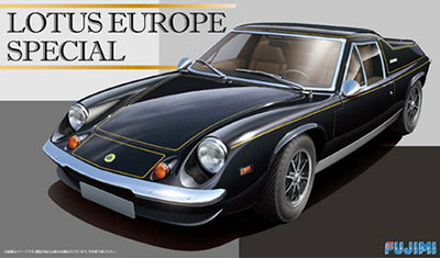 1/24 リアルスポーツカーシリーズ No.100 ロータスヨーロッパスペシャル プラモデル[フジミ模型]《取り寄せ※暫定》