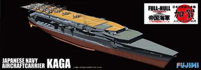1/700 帝国海軍シリーズ No.33 日本海軍航空母艦加賀三段式飛行甲板時フルハルモデル プラモデル[フジミ模型]《取り寄せ※暫定》