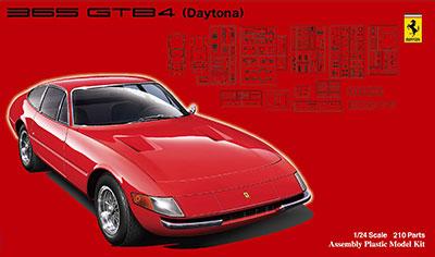 1/24 リアルスポーツカーシリーズ No.107 フェラーリ365GTB4デイトナ プラモデル[フジミ模型]《取り寄せ※暫定》