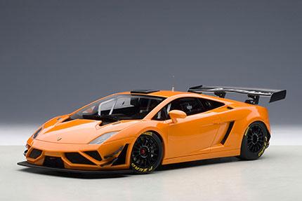 1/18オートアート・コンポジットモデル ランボルギーニ ガヤルド GT3 FL2 2013 (メタリック・オレンジ)[オートアート]《取り寄せ※暫定》