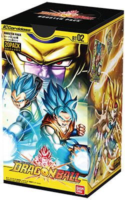 IC カードダス ドラゴンボール 第2弾 ブースターパック【BT02】 20個入りBOX[バンダイ]《発売済・在庫品》