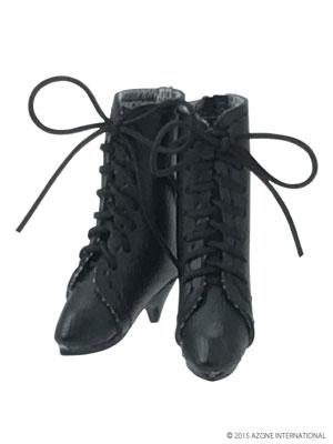 ピュアニーモサイズ PNMクラシカルミドルブーツ ブラック(ドール用衣装)[アゾン]《発売済・在庫品》