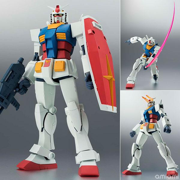 ROBOT魂 〈SIDE MS〉 RX-78-2 ガンダム ver. A.N.I.M.E. 『機動戦士ガンダム』[バンダイ]《発売済・在庫品》