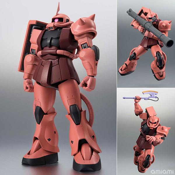 【中古】(本体A/箱B)ROBOT魂 〈SIDE MS〉 MS-06S シャア専用ザク ver. A.N.I.M.E. 『機動戦士ガンダム』[バンダイ]《発売済・在庫品》