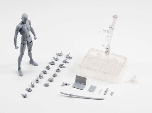 S.H. Figuarts - Body-kun DX SET (Gray Color Ver.)(Pre-order)S.H.フィギュアーツ ボディくん DX SET(Gray Color Ver.)Scale Figure