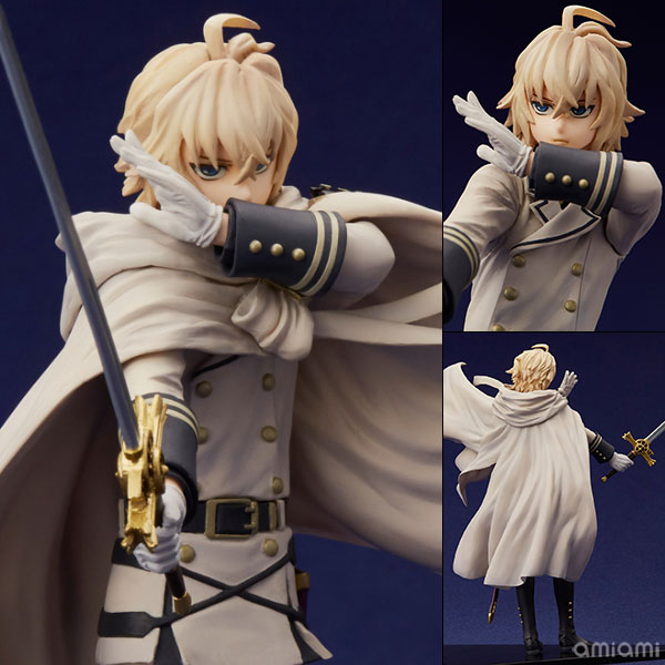 mensHdge technical statue No.22 Seraph of the End - Mikaela Hyakuya Complete Figure(Pre-order)mensHdge technical statue No.22 終わりのセラフ 百夜ミカエラ 完成品フィギュアScale Figure
