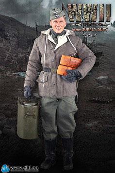 1/6 WWII German Army Supply Duty-Bastian[DID]【送料無料】《取り寄せ※暫定》