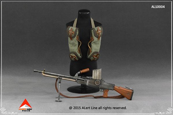 1/6 ZB26軽機関銃 & チェストハンギングバッグ(ドール用衣装)[Alert Line]《在庫切れ》
