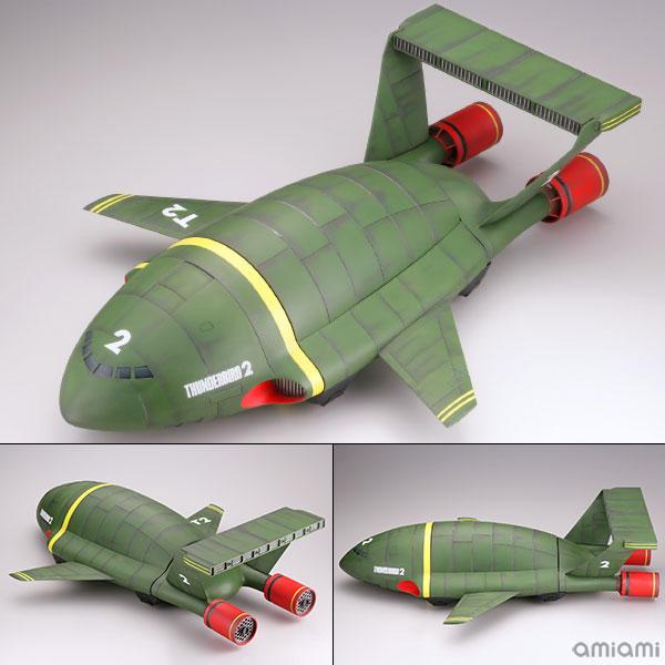 メガソフビアドバンス MSA-006 サンダーバード2号 塗装済み組立モデル(再販)[海洋堂]《在庫切れ》