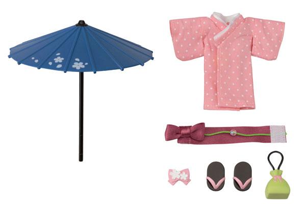 Cu-poche Extra - Hannari Set (Peach)(Pre-order)キューポッシュえくすとら はんなりせっと(桃)Nendoroid