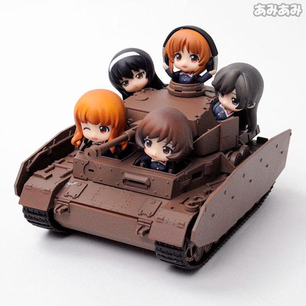 ねんどろいどもあ・Ⅳ号戦車D型改(H型仕様)+ねんどろいどぷち・あんこうチーム