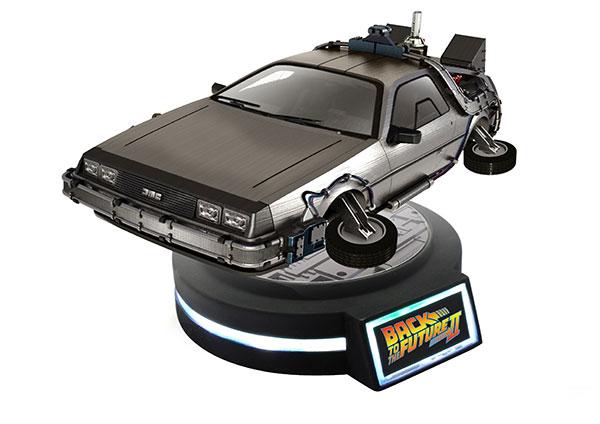 バック・トゥ・ザ・フューチャーPartII 1/20 Magnetic Floating デロリアン タイムマシン[KidsLogic]【送料無料】《09月予約》
