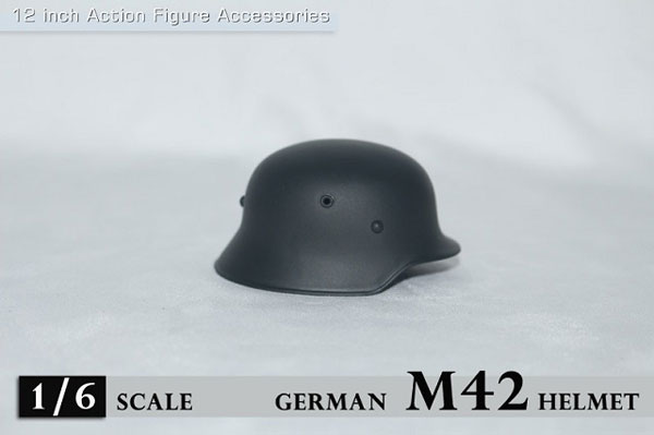 1/6 WWII M42 ヘルメット ロゴ無し (ZY-M42)(ドール用衣装)[ZY-TOYS]《在庫切れ》