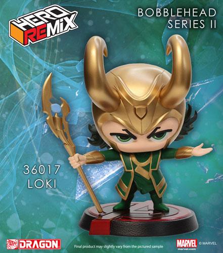 Hero Remix - Bobble Head Series: Avengers Loki (Complete Figure)(Back-order)ヒーローリミックス ボブルヘッドシリーズ アベンジャーズ ロキ(完成品)Scale Figure