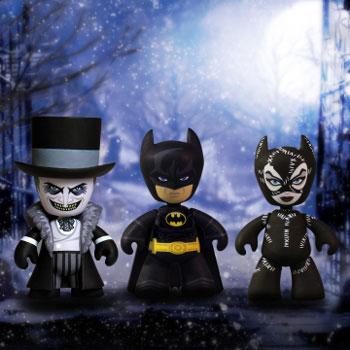 バットマン リターンズ 2インチメズイッツ 3パック[メズコ]《取り寄せ※暫定》