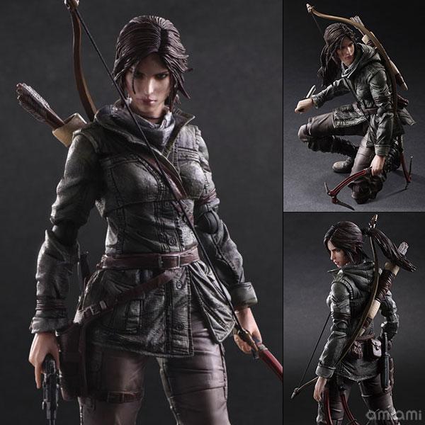 プレイアーツ改-KAI- Rise of the Tomb Raider ララ・クロフト[スクウェア・エニックス]《在庫切れ》
