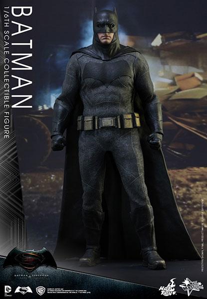 【ムービー・マスターピース】『バットマン vs スーパーマン ジャスティスの誕生』 1/6 バットマン[ホットトイズ]【送料無料】《在庫切れ》