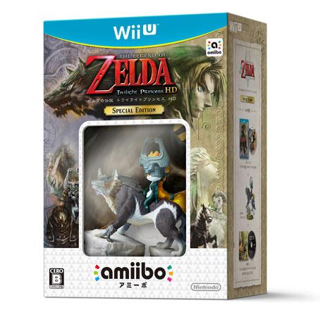 Wii U ゼルダの伝説 トワイライトプリンセス HD SPECIAL EDITION[任天堂]【送料無料】《在庫切れ》