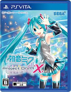 【特典】PS Vita 初音ミク -Project DIVA- X[セガ]【送料無料】《在庫切れ》
