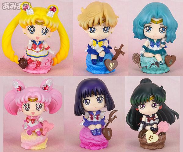 ぷちきゃらランド 美少女戦士セーラームーン アイスクリーム☆パーティー 6個入りBOX[メガハウス]《取り寄せ※暫定》