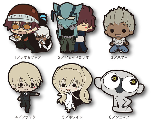 Blood Blockade Battlefront - TINY Rubber Strap Vol.2 6Pack BOX(Pre-order)血界戦線 TINYラバーストラップ第2弾 6個入りBOXAccessory