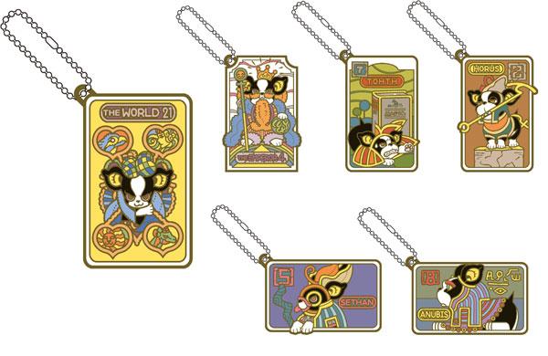 ラバーマスコット ジョジョの奇妙な冒険 イギーの奇妙なコスプレ タロット編 DIO様と愉快な仲間たち編 6個入りBOX[メガハウス]《発売済・在庫品》