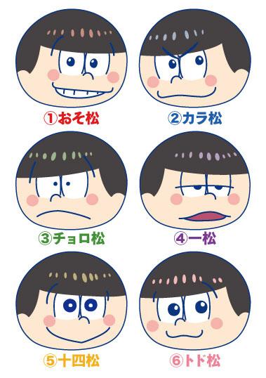 Osomatsu-san - Omanjuu Niginigi Mascot 6Pack BOX(Pre-order)おそ松さん おまんじゅうにぎにぎマスコット 6個入りBOXAccessory