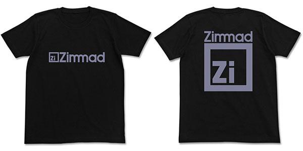 機動戦士ガンダム ツィマッド社Tシャツ/ブラック-L