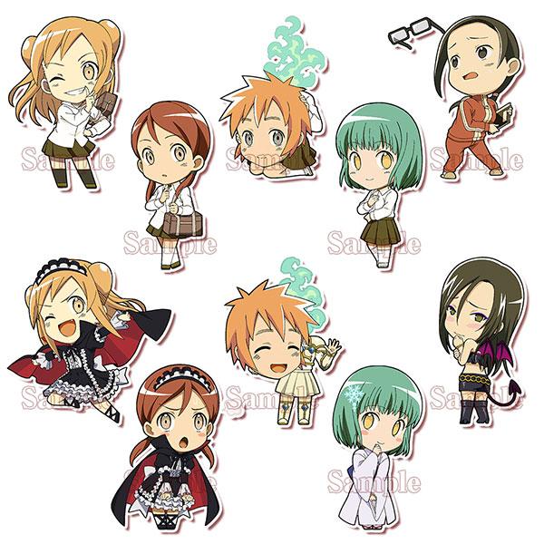 Ajin (Demi) chan wa Kataritai - Demichans Trading Acrylic Keychain 10Pack BOX(Pre-order)亜人〈デミ〉ちゃんは語りたい 亜人ちゃんずトレーディングアクリルキーホルダー 10個入りBOXAccessory
