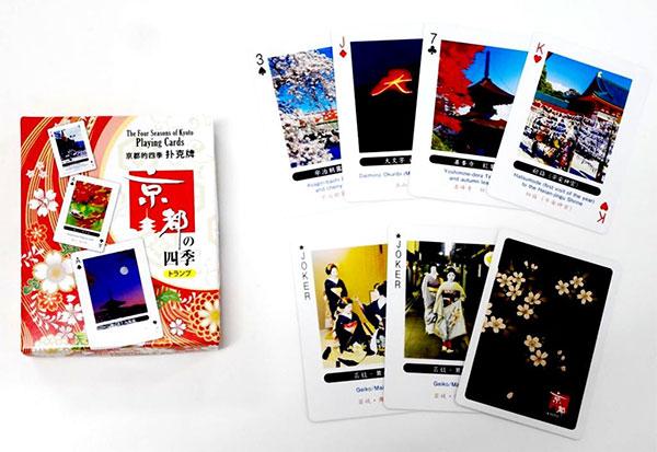 京都の四季トランプ[エンゼルプレイングカード]《在庫切れ》