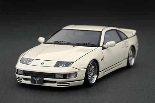 1/43 Nissan Fairlady Z(Z32) White ※BBS Type Wheel[イグニッションモデル]《在庫切れ》
