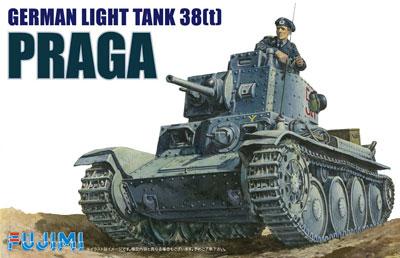 1/76 ワールドアーマーシリーズ No.4 ドイツ陸軍 38t軽戦車 プラガ プラモデル[フジミ模型]《在庫切れ》