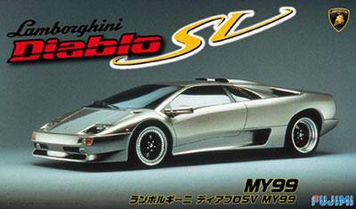 1/24 リアルスポーツカーシリーズ No.79 ランボルギーニ ディアブロSV MY99 プラモデル[フジミ模型]《取り寄せ※暫定》