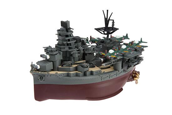 ちび丸艦隊シリーズ No.14 ちび丸艦隊 日向(航空戦艦) プラモデル[フジミ模型]《取り寄せ※暫定》