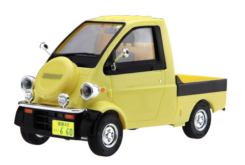 1/24 CARモデルEASYシリーズ No.3 ダイハツ ミゼット プラモデル[フジミ模型]《取り寄せ※暫定》