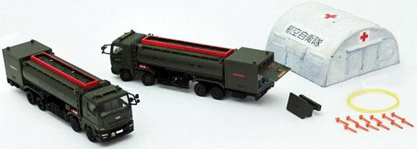 技MIX 技AC922 1/144 航空装備品2 航空自衛隊 燃料給油車セット[トミーテック]《在庫切れ》