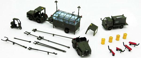 技MIX 技AC923 1/144 航空装備品3 航空自衛隊 けん引車セット[トミーテック]《取り寄せ※暫定》