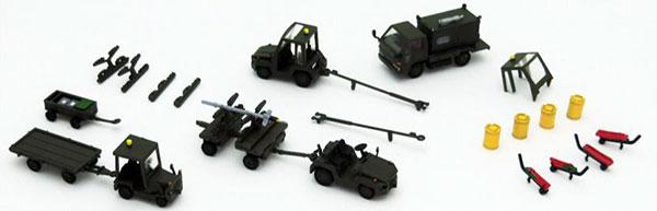 技MIX 技AC924 1/144 航空装備品4 航空自衛隊 ウエポンドリーセット[トミーテック]《発売済・在庫品》