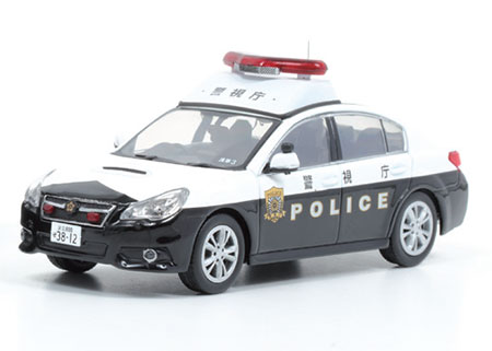 1/43 スバル レガシィ B4 2.5G2014 警視庁所轄署地域警ら車両(浅3)[RAI'S]《在庫切れ》