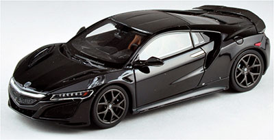 1/43 2015 Acula NSX The Quail Motorsports Gathering Berlina Black 宮沢模型流通限定[TSMモデル]《在庫切れ》