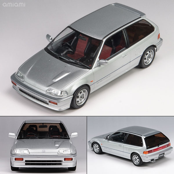 1/18 TRIPLE 9 COLLECTION Honda Civic EF-3 Si 1987 Silver[TRIPLE 9 COLLECTION]《取り寄せ※暫定》