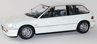 1/18 TRIPLE 9 COLLECTION Honda Civic EF-3 Si 1987 White[TRIPLE 9 COLLECTION]《発売済・在庫品》
