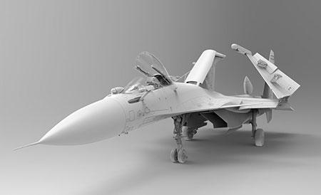 1/48 Su-33 フランカー D プラモデル[キネティック]《発売済・在庫品》