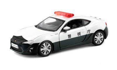 キャストワールド 世界のダイキャストカー トヨタ86ポリスカー[カワダ]《在庫切れ》