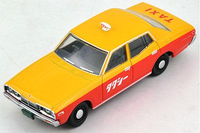 トミカリミテッドヴィンテージ LV-N123a セドリック スタンダード タクシー仕様 75年式 (黄/橙)[トミーテック]《在庫切れ》