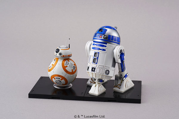 スター・ウォーズ 1/12 BB-8 & R2-D2 プラモデル[バンダイ]《取り寄せ※暫定》